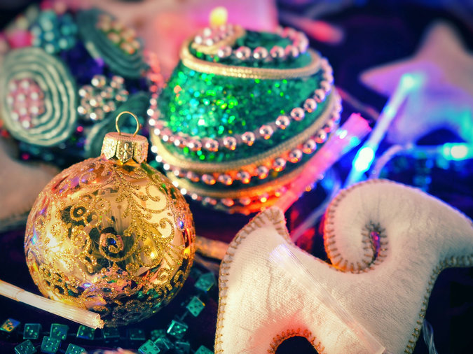 cute colorful ornaments