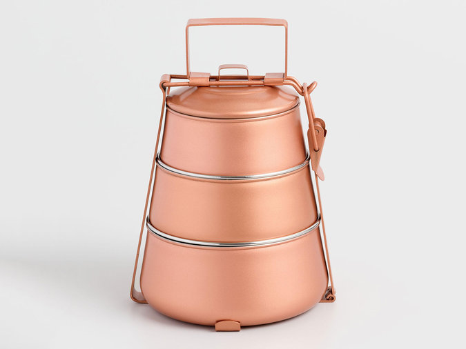 copper lunch box
