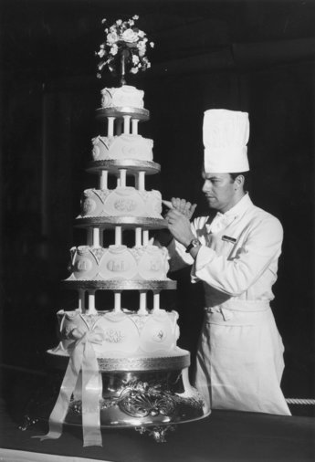 Princess Anne wedding cake