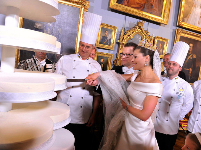 Crown Princess Victoria and Daniel Westling