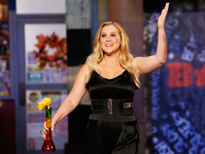 Amy Schumer got a critically acclaimed chef in the gossip pages.