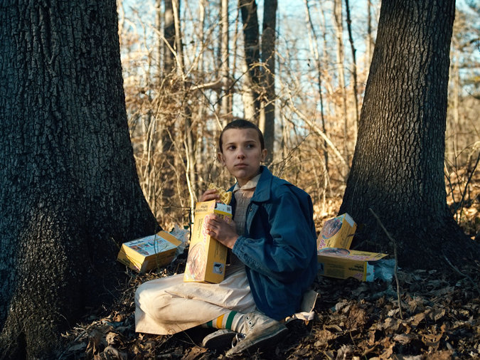eggos and stranger things connection