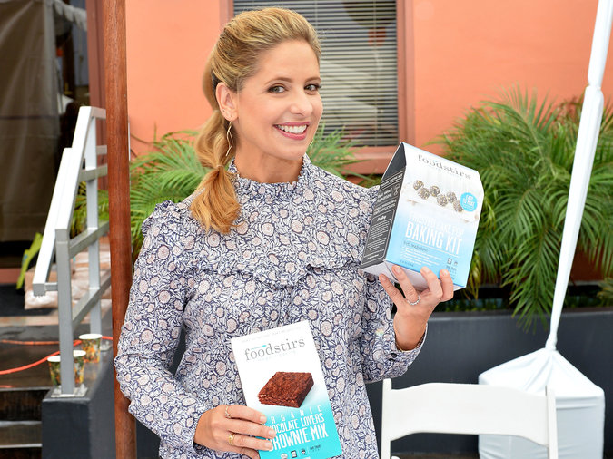 Sarah Michelle Gellar's baking-mix company exceeded all expectations.
