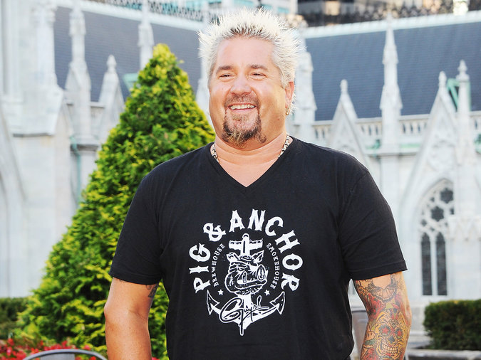 Stand-up comedian Shane Torres went to bat for Guy Fieri.