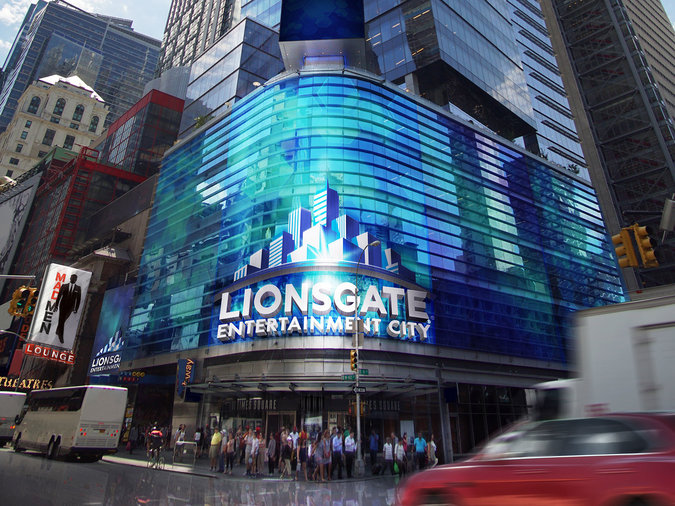 Lionsgate plans to keep  Mad Men  alive in Times Square.