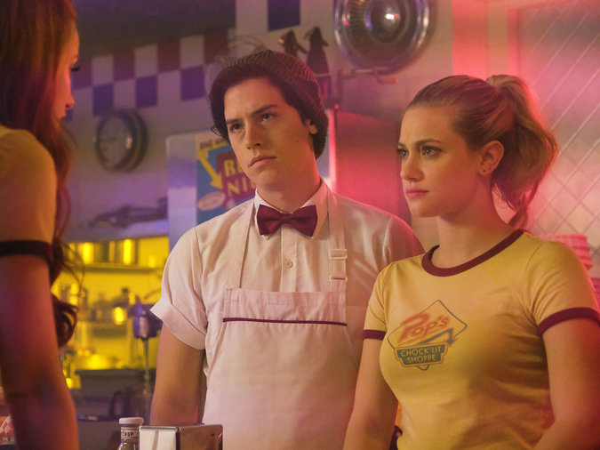 Riverdale  made us all miss malted shakes and squishy burgers.