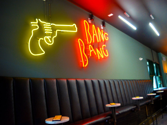 Quentin Tarantino themed bar