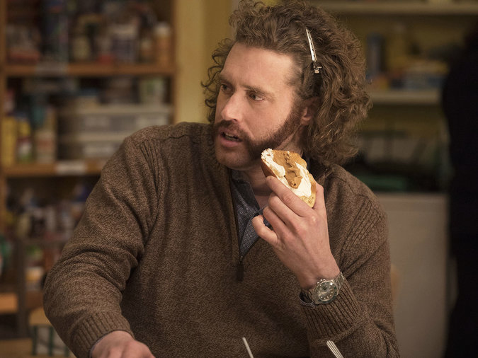 T.J. Miller spent his time away from  Silicon Valley  on Yelp.
