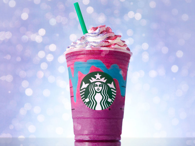 unicorn frap at starbucks