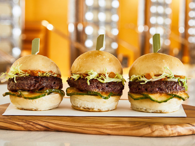 Impossible Burger Sliders
