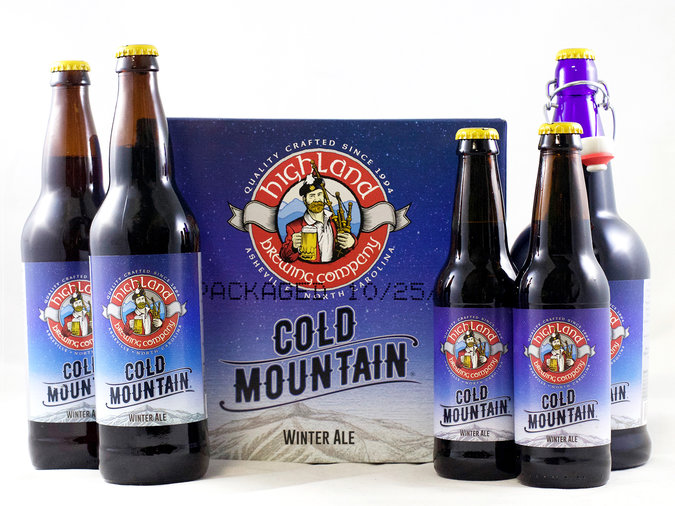 highland brewing company cold mountain beer