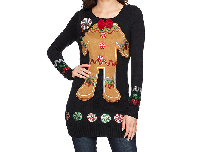 Gingerbread Neck Tunic