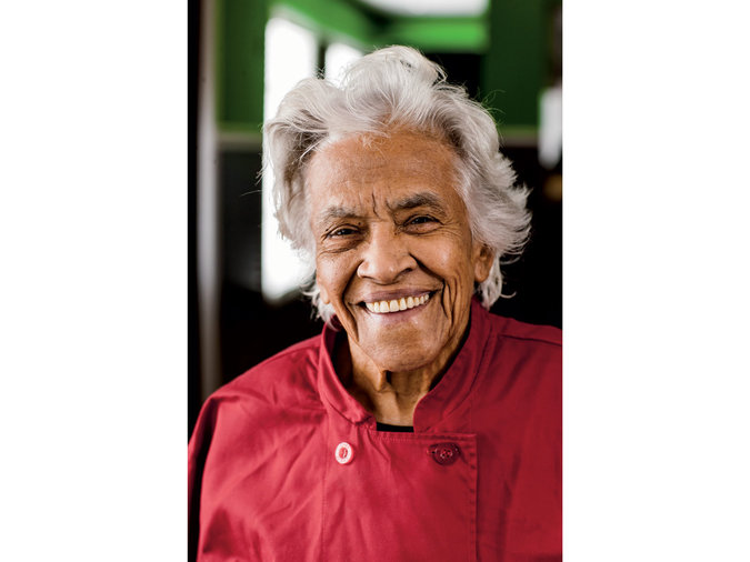 Chef Leah Chase, 2013