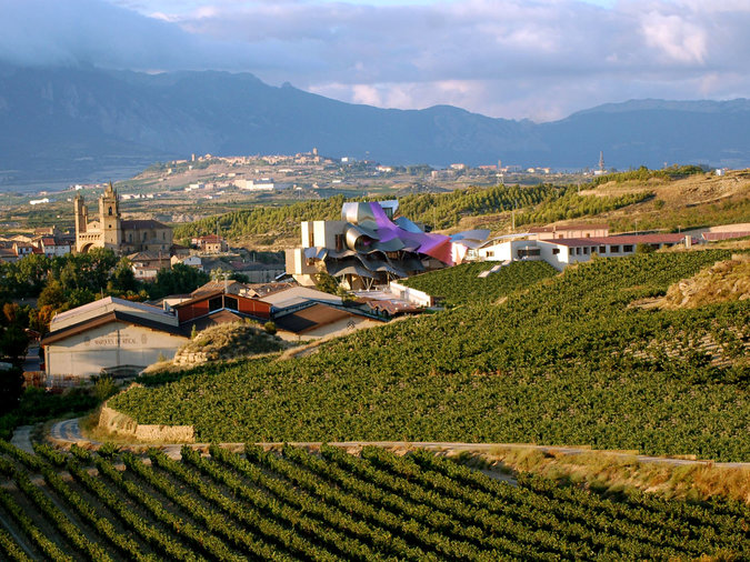 Marques de Riscal: Rioja, Spain