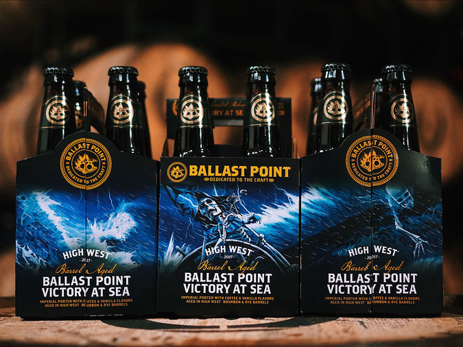 High West Barrel-Aged Victory at Sea by Ballast Point Brewery