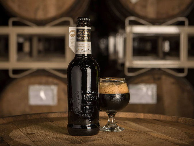 Bourbon County Brand Stout by Goose Island Beer Co.