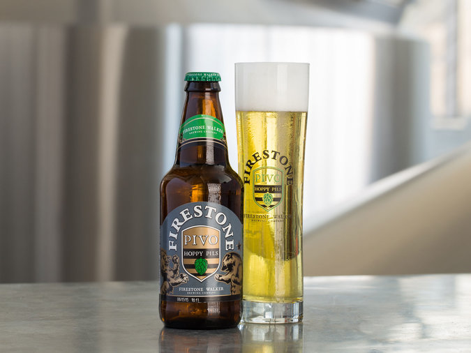 Pivo Pils by Firestone Walker Brewing Co.