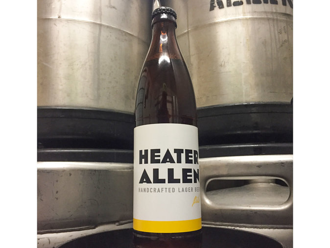 Pils by Heater Allen Brewing