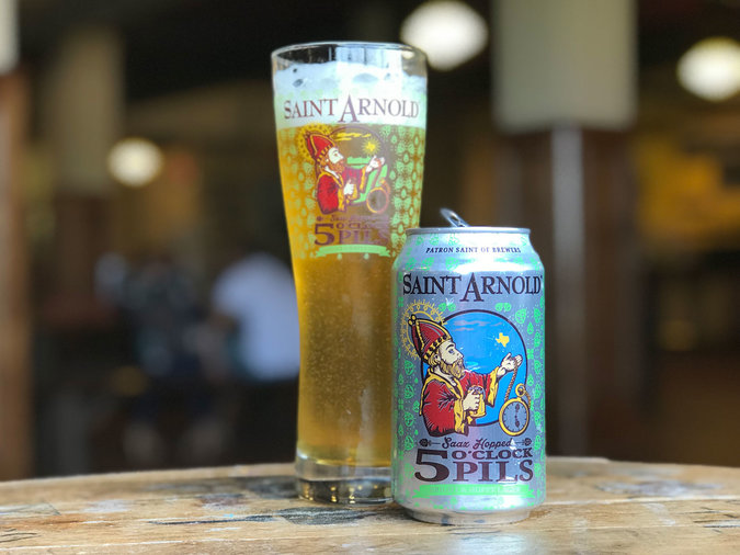 5 O'clock Pils by Saint Arnold Brewing Company