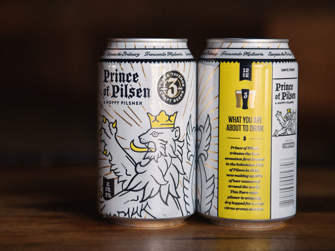 Prince of Pilsen by Three Taverns Craft Beers