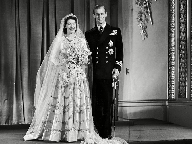 Princess Elizabeth Queen Elizabeth II and Prince Philip Duke of Edinburgh