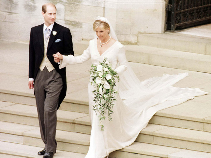 Sophie Rhys Jones and Prince Edward