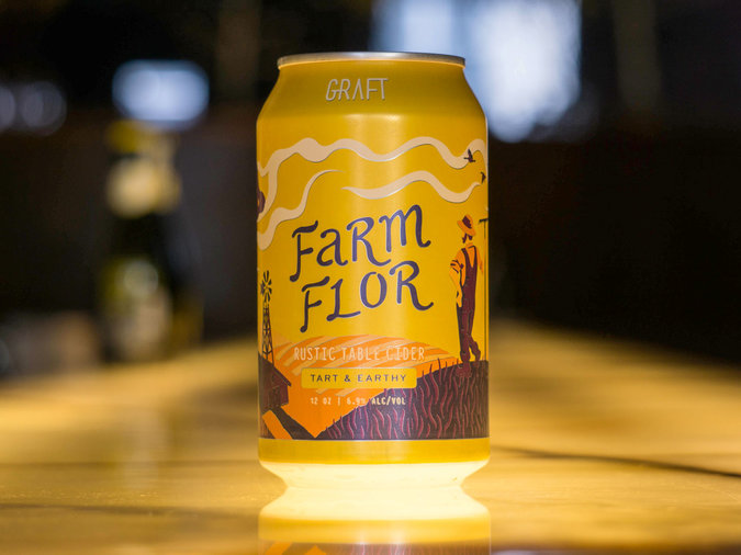 Graft Farm Flor Rustic Cider (Farmhouse Cider) – Newburgh, NY