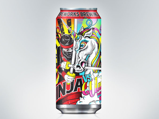 Pipeworks Brewing Ninja vs. Unicorn