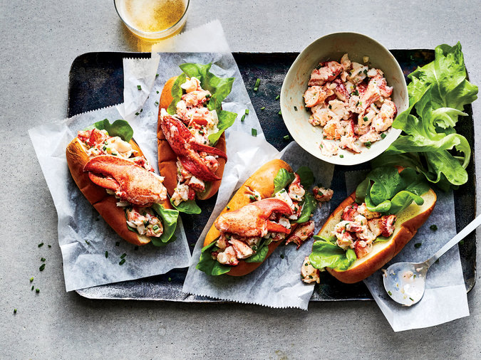 Maine Style Lobster Rolls