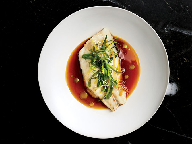 Steamed Fish with Fortified Soy Sauce