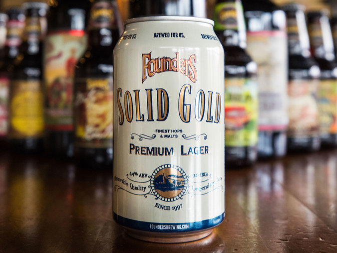 Founders Brewing Solid Gold Lager