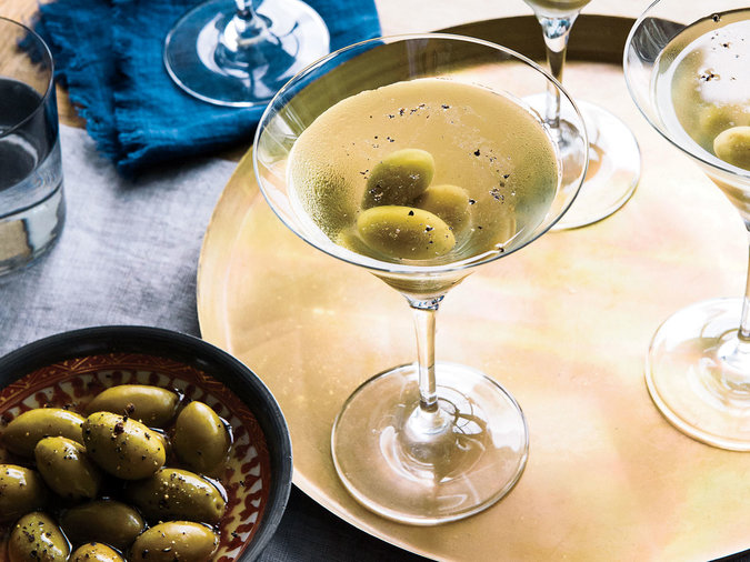 Seriously Dirty Martinis