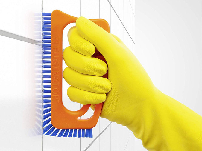 Scrubbing Tile Brush