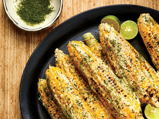 Grilled Corn on the Cob with Calamansi Mayo