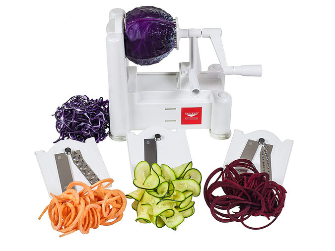 Paderno World Cuisine Vegetable Slicer & Spiralizer