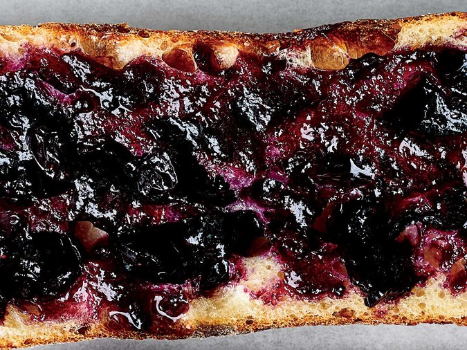 Blueberry Beaujolais Jam