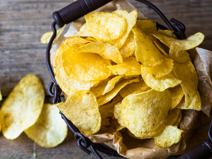 Chefs Refrigerate Potato Chips