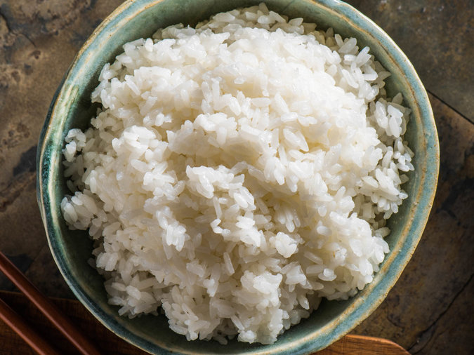 Chefs Refrigerate White Rice