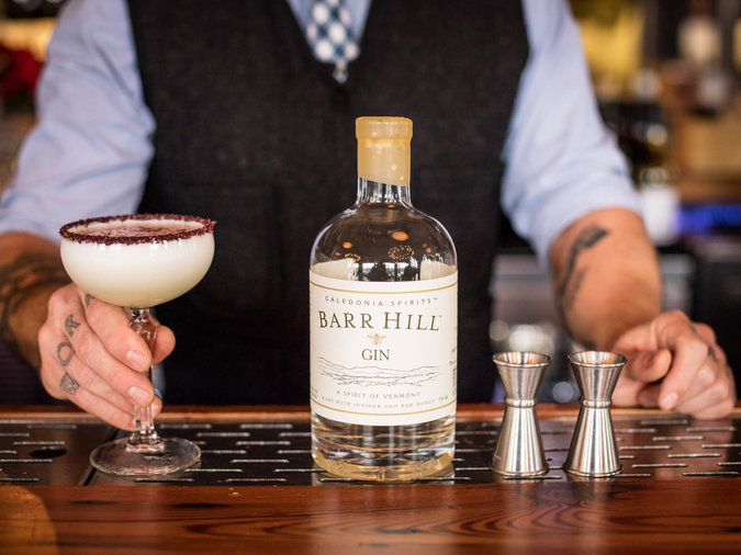 Sustainable Wines and Spirits Bar Hill Gin