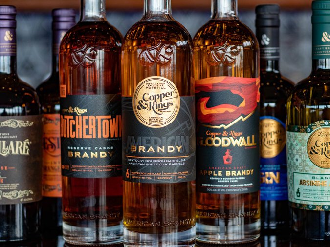 Sustainable Wines and Spirits Copper and Kings Brandy