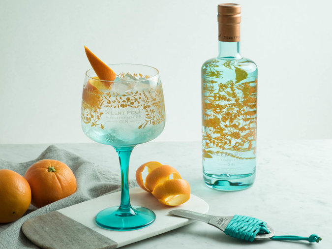 Sustainable Wines and Spirits Silent Pool Gin