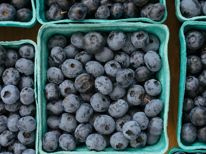 Start With Fresh, Ripe Blueberries
