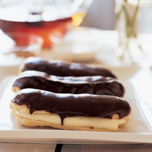 Chocolate-Frosted Éclairs