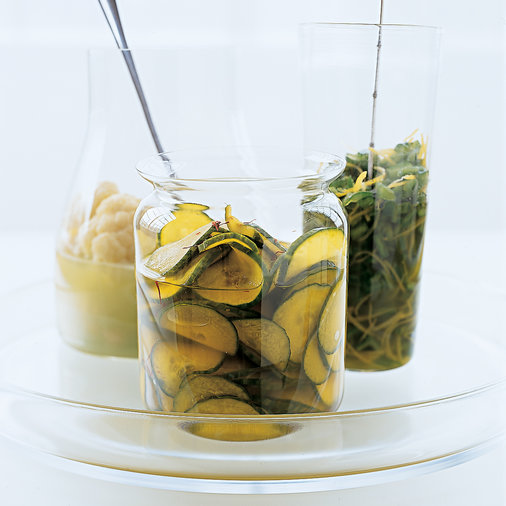 Saffron Cucumber Pickles