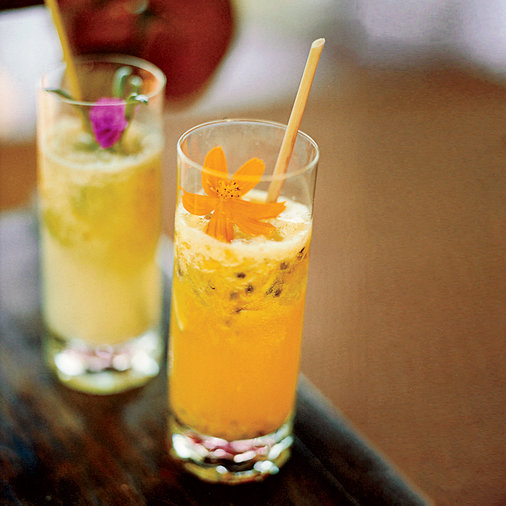 Rio-Style Ginger Beer Floats