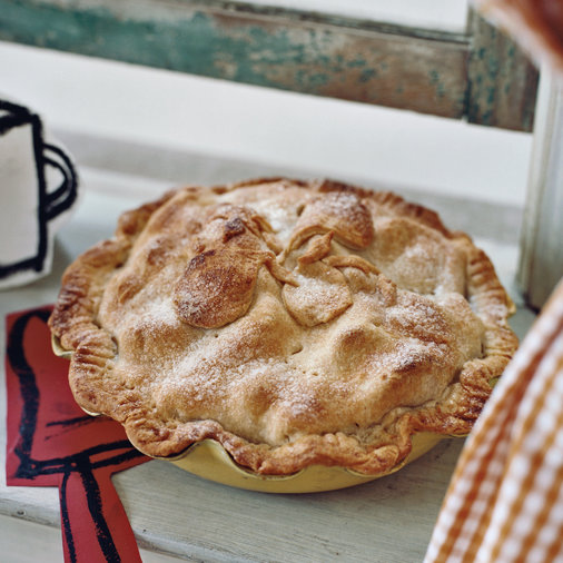 <p>Flaky Pear Pie</p>