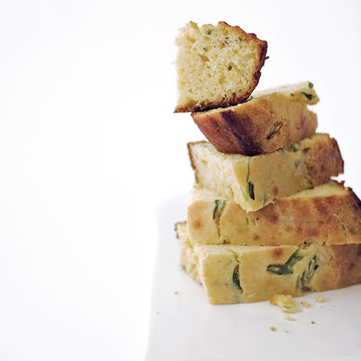 Corn Bread with Scallions