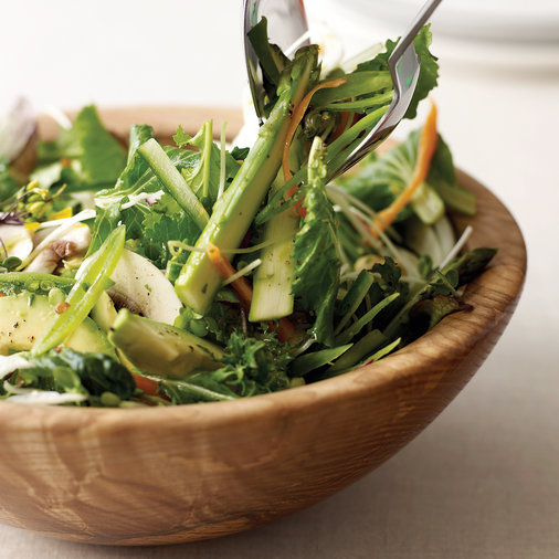 10-Vegetable Salad with Lemon Vinaigrette