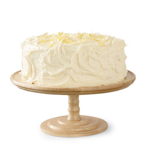 Lemon Cake with Lemon Frosting
