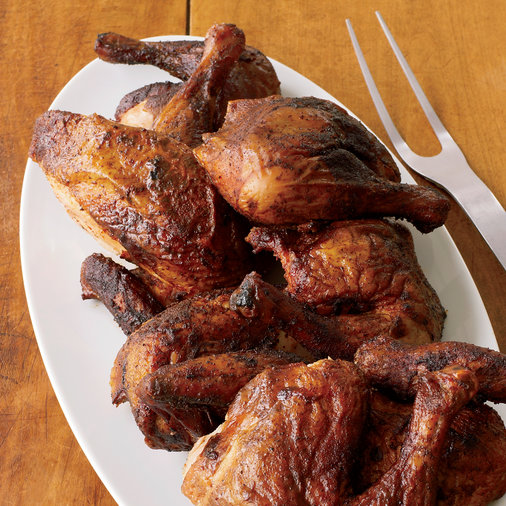 Smoky Barbecued Chicken